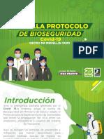 Protocolo Bioseguridad Metro Medellín