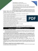 1.1. SALTO V. (2018) Orientaciones para la elaboración de una unidad didáctica sobre el QUÉ enseñar