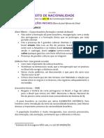 AULA - 1ºBIM - Direito de Nacionalidade - Copia