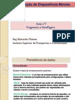 08 Presistencia de Dados