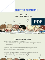 Diseases of the Newborn I