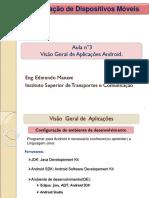 03 Visao Geral de Aplicacoes Android