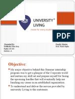 University Living  report
