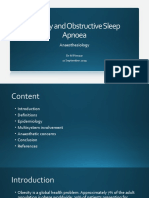 Obesity and Obstructive Sleep Apnoea.pptx