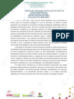 UM PERÍODO DE LUZES PARA A EDUCAÇÃO DE ADULTOS - FINALIZADO