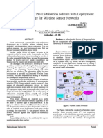 An Improved Key Pre-Distribution with deployment knowledge for wireless sensor networks
