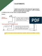 CHAPITRE III tolerances ajustements