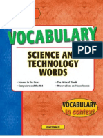 Vocabulary Science and Technology Words - 115p