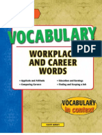 Vocabulary Workplace and Career Words - 115p