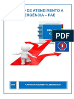 PLANO DE ATENDIMENTO A EMERGÊNCIA