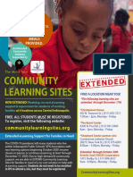 Community Learning Sites