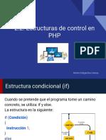 2.2. Estructuras de Control en PHP