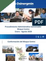 PPT INFORME DE GESTION AGOSTO 2020