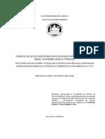 Regulação Do LNG-Os Contratos de Compra e Venda de Longo Prazo de LNG Perante o Direito Da Concorrência Miguel de Carvalho