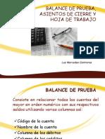 Balance de Prueba, Asientos de Cierre y Hoja de Trabajo (1)