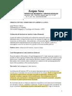 ORDENACIÓN DEL TERRITORIO EN AMÉRICA LATINA