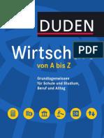 DUDEN - Wirtschaft Von a Bis Z1