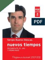 Programa electoral PSOE 2007-2011 - copia