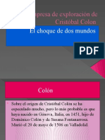 La empresa de exploración de Cristóbal Colon 8vo