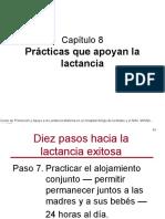 09. 8 Prácticas Que Apoyan La Lactancia