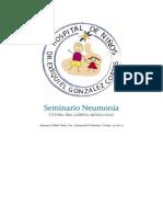 Seminario Neumonía