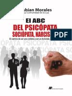 ABC del psicopata, sociopata, narcicista Fabian Morales