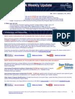EdUSA Weekly Update No 215 -- 24 JAN 2011