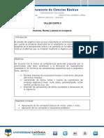 Taller 2 ÁLGEBRA LINEAL  2020-3