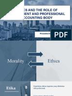 Etika dan Pengawasan Akuntan Publik (Kelompok 5)