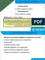 PCC Planificación y Programación del Mantenimiento Unidad IV