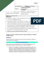 Evidencia 1, Temas 7 Aplicaciones de las leyes de Newton y 8 Trabajo y energía cinética.