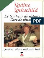 Rothschild, N. de - Le bonheur de séduire, l'art de réussir.pdf