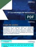 2.1 LA ESTRATEGIA DE OPERACIONES 47 (1)