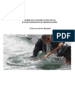 Diario de Construcción de un Kayak Tradicional Groenlandés