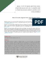 Rol y futuros retos del psicólogo en el campo de la psicología educativa en Colombia