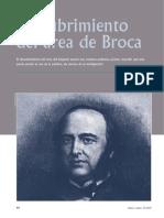 Descubrimiento del área de Broca