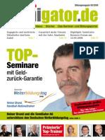 Semigator Bildungsmagazin Ausgabe August