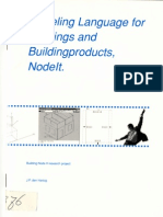 Modeling Language for Buildings and Building Products, Nodelt