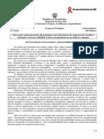 Enunciado Portugues Extraord. 12ªclas 2014