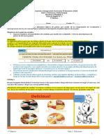 Guía N° 1 -Unidad 3- DELICIOUS , 5° Básico  II Semestre 2020