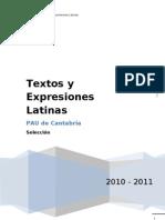 antologia latin pau