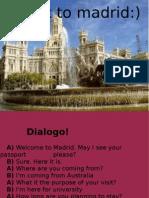 Ingles, visita a Madrid