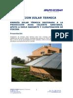 Instalación solar (Grupo Ecosar)