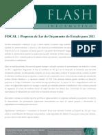 Proposta de lei do orcamento do estado para 2011