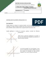MATEMATICAS 9 ECUACIONES LINEALES 2X2