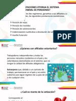 Diapositivas Generalidades del Sistema de Pensiones