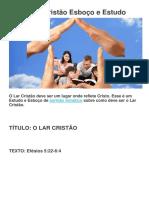 O-lar-Cristao-estudo-e-esboco