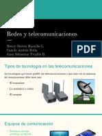 Redes y Telecomunicaciones