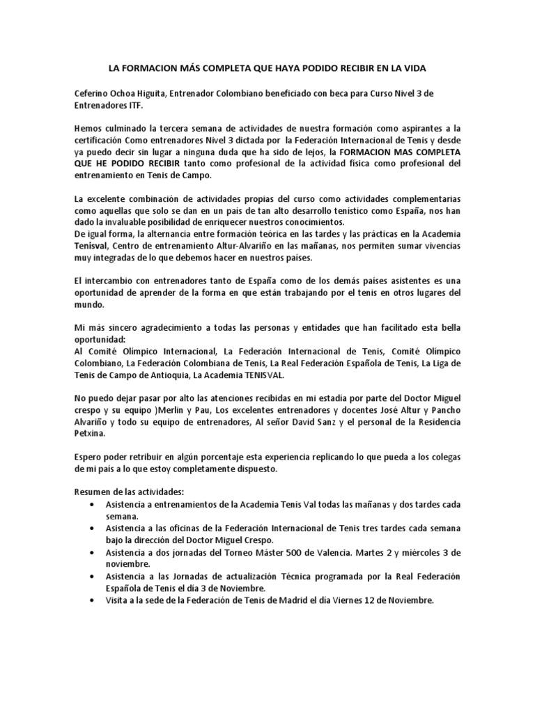 Atractivo Resume La Descripción Del Entrenador Galería - Ejemplo De ...
