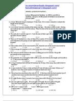 TANCET MCA Model Paper 2